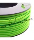Cordoncino PVC Verde Mela 4 mm Forato (1 metro)