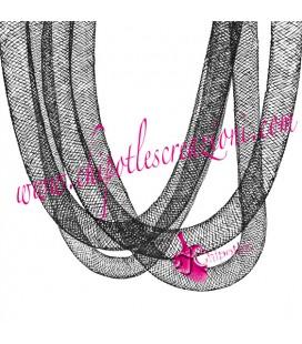 Rete Tubolare Nera Nylon 8 mm