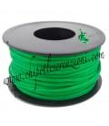 Cordoncino Coda di Topo 3 mm Verde Smeraldo