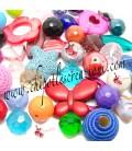 Perle Miste Varie Forme e Colori (50 pezzi)