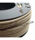 Cordoncino PVC Beige 4 mm Forato