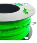 Cordoncino PVC Verde Fluo 4 mm Forato