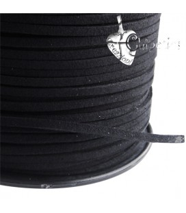 Cordoncino Simil Suede 3x1,5 mm vari colori (1 metro)