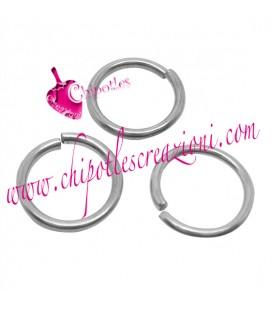 0105141642 Anellino Apribile 10x1,2 mm Acciaio Inossidabile (100 pezzi)