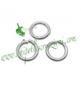 Anellino Apribile 6x1 mm Acciaio Inossidabile (100 pezzi)