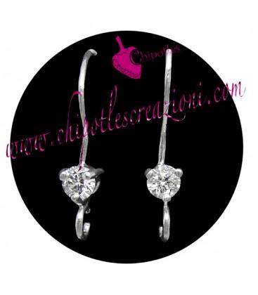 Monachelle con Zircone Argento 925