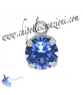 Ciondolo con Chaton Swarovski SS39 Sapphire