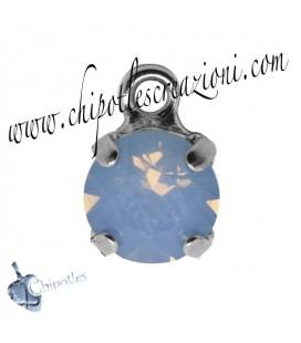 Ciondolo con Chaton Swarovski SS39 Air Blue Opal