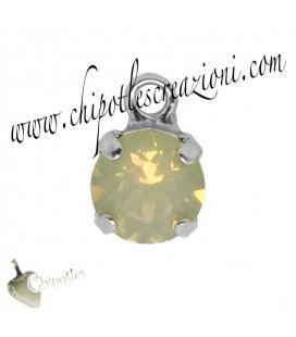 Ciondolo con Chaton Swarovski SS39 Sand Opal
