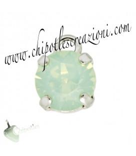 Ciondolo con Chaton SW SS39 Chrysolite Opal
