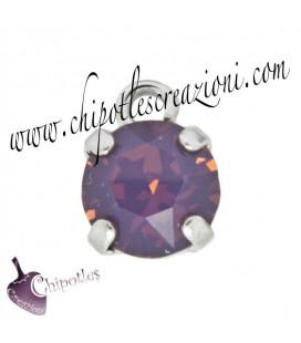 Ciondolo con Chaton SW SS39 Cyclamen Opal