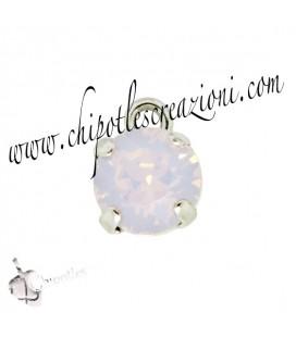 Ciondolo con Chaton SW SS39 Rose Water Opal