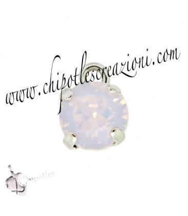 Ciondolo con Chaton Swarovski SS39 Rose Water Opal