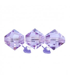 Biconi Swarovski® 5328 6 mm Light Amethyst 212 (30 pezzi)