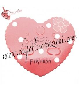 Espositori Carta Etichette - Targhette per Bijoux a Cuore (10 pezzi)