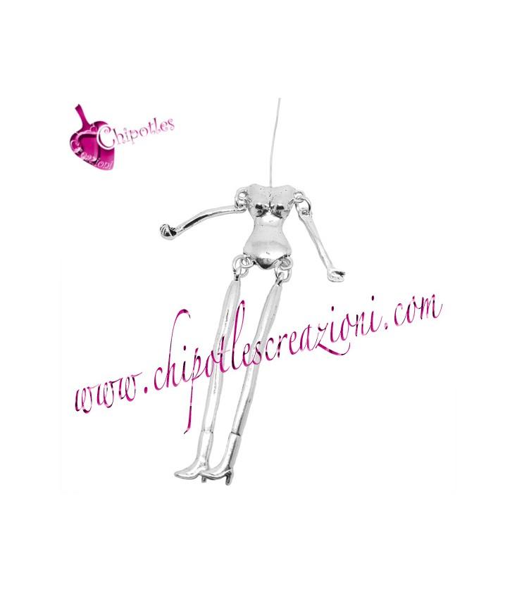 bambola argento