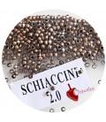 Schiaccini 2 mm Rame Antico (100 pezzi)