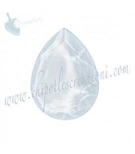 Goccia Swarovski® 4320 18x13 mm Crystal Powder Blue