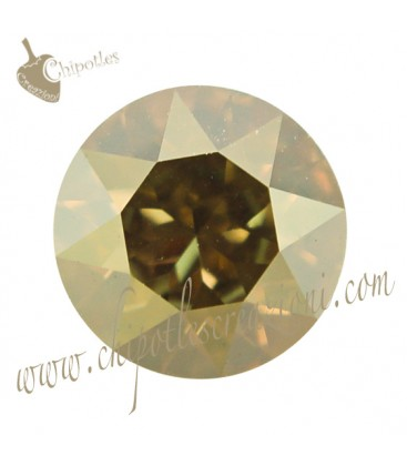 Chaton Swarovski® 1088 SS39 8 mm Crystal Metallic Sunshine