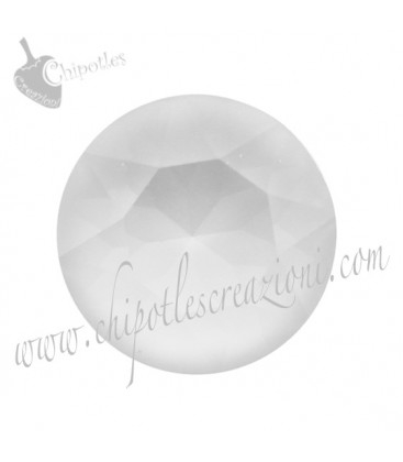 Chaton Swarovski® 1088 SS39 8 mm Crystal Powder Grey