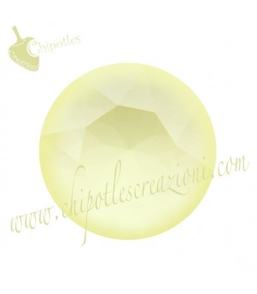 Chaton Swarovski® 1088 SS39 8 mm Crystal Powder Yellow