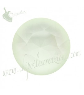 Chaton Swarovski® 1088 SS39 8 mm Crystal Powder Green