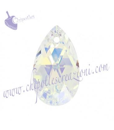 Ciondolo Goccia Swarovski® 6106 16 mm Crystal AB