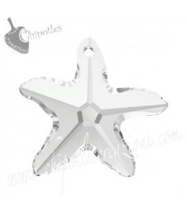 Ciondolo Stella Marina Starfish Swarovski® 6721 28 mm Crystal