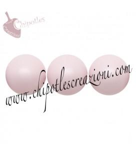 Perle Swarovski® 5810 8 mm Pastel Rose Pearl (10 pezzi)