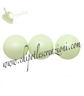 Perle Swarovski® 5810 8 mm Pastel Green Pearl (10 pezzi)