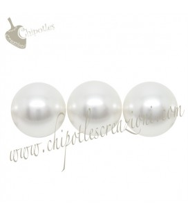 Perle Swarovski® 5810 10 mm Crystal White Pearl (10 pezzi)
