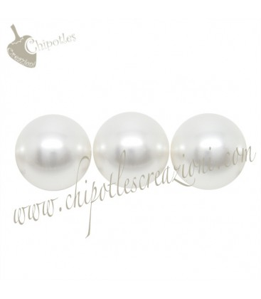 Perle Swarovski® 5810 10 mm Crystal White Pearl