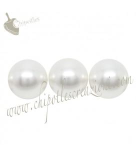 Perle Swarovski® 5810 8 mm Crystal White Pearl (10 pezzi)