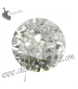 Chaton Swarovski® 1088 SS39 8 mm Crystal Silver Patina (6 pezzi)
