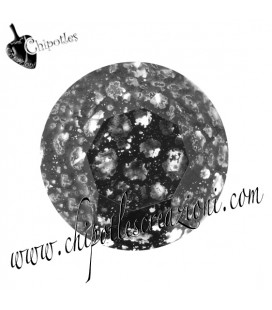 Chaton Swarovski® 1088 SS39 8 mm Crystal Black Patina