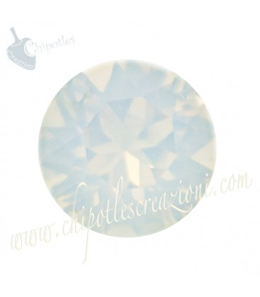 Chaton Swarovski® 1088 SS39 8 mm White Opal