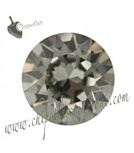 Chaton Swarovski® 1088 SS39 8 mm Black Diamond