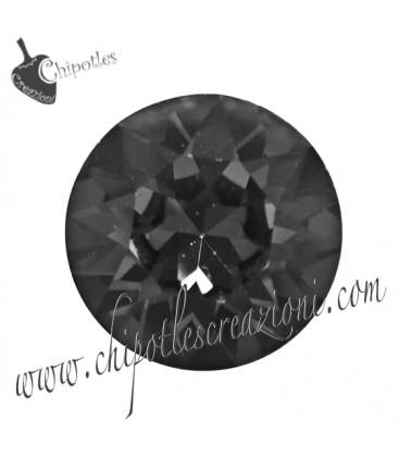 Chaton Swarovski® 1088 SS39 8 mm Crystal Silver Night