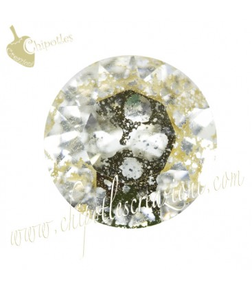 Chaton Swarovski® 1088 SS39 8 mm Crystal Gold Patina