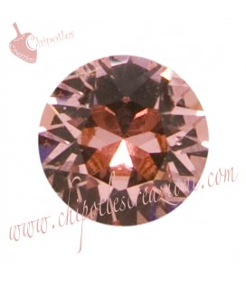 Chaton Swarovski® 1088 SS39 8 mm Rose Peach