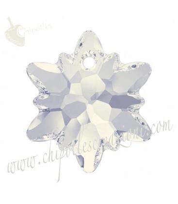Ciondolo Edelweiss Swarovski® 6748 14 mm White Opal