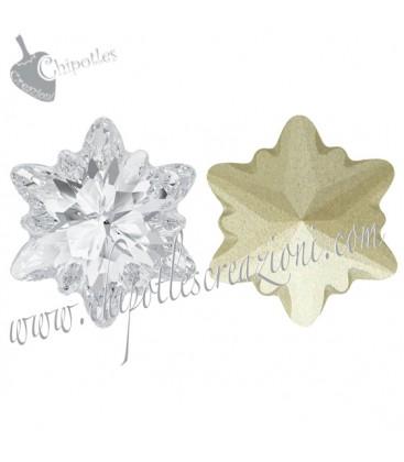 Stella Alpina Edelweiss FS Swarovski® 4753 14 mm Crystal
