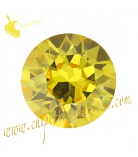 Chaton Swarovski® 1088 SS39 8 mm Light Topaz