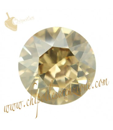 Chaton Swarovski® 1088 SS39 8 mm Crystal Golden Shadow