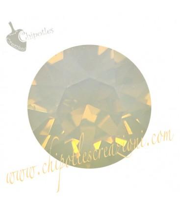 Chaton Swarovski® 1088 SS39 8 mm Light Grey Opal