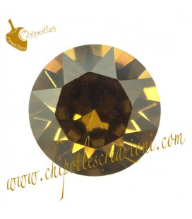 Chaton Swarovski® 1088 SS39 8 mm Crystal Bronze Shade
