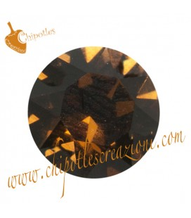 Chaton Swarovski® 1088 SS39 8 mm Smoked Topaz