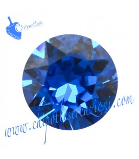 Chaton Swarovski® 1088 SS39 8 mm Capri Blue
