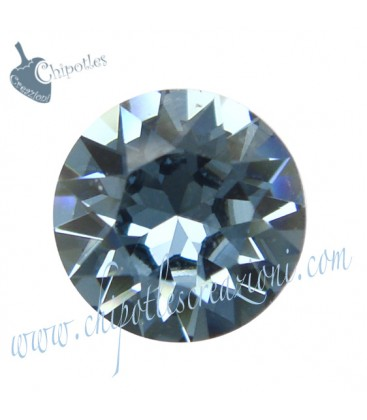 Chaton Swarovski® 1088 SS39 8 mm Denim Blue