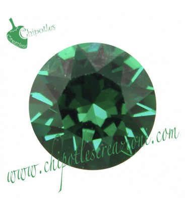 Chaton Swarovski® 1088 SS39 8 mm Emerald